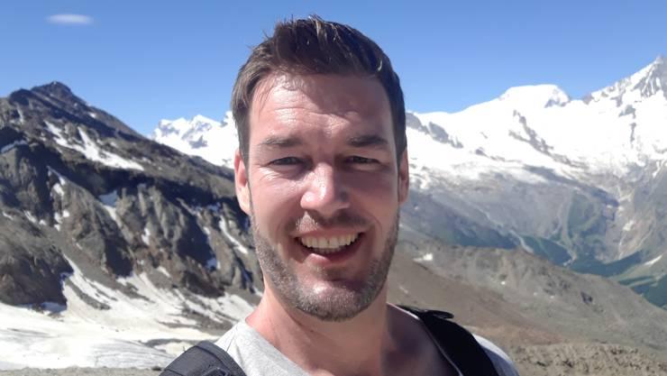 Der SVP-Grossrat Christoph Riner verbringt seine Ferien im Oberwallis.