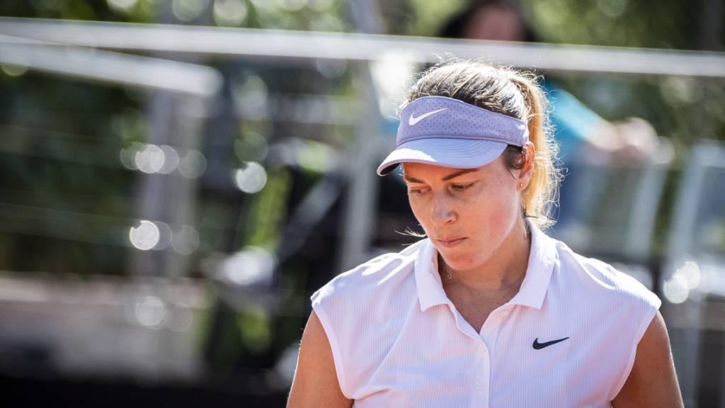 Stefanie Vögele kämpfte sich gegen die als Nummer 4 gesetzte Alexandrowa stark zurück, zog am Ende aber doch den Kürzeren