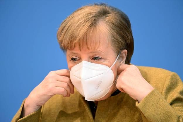 Grenzkontrollen und -schliessungen nicht ausgeschlossen: Bundeskanzlerin Angela Merkel.