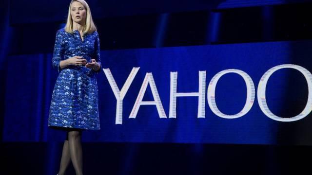 Yahoo-Chefin Marissa Mayer an einem Event in Las Vegas (Archiv)