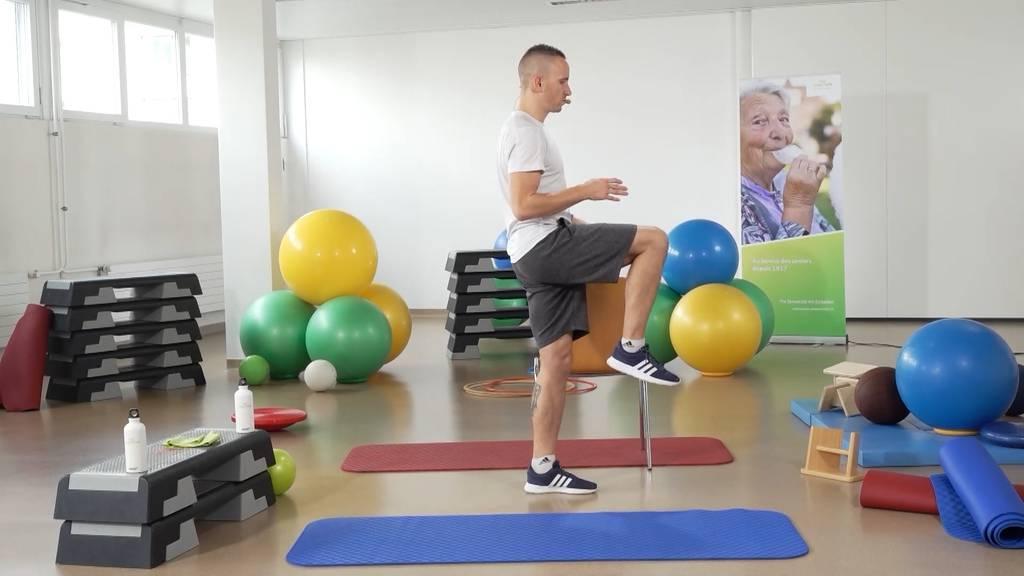 «Gymnastik im Wohnzimmer» vom 22. Juli 2021