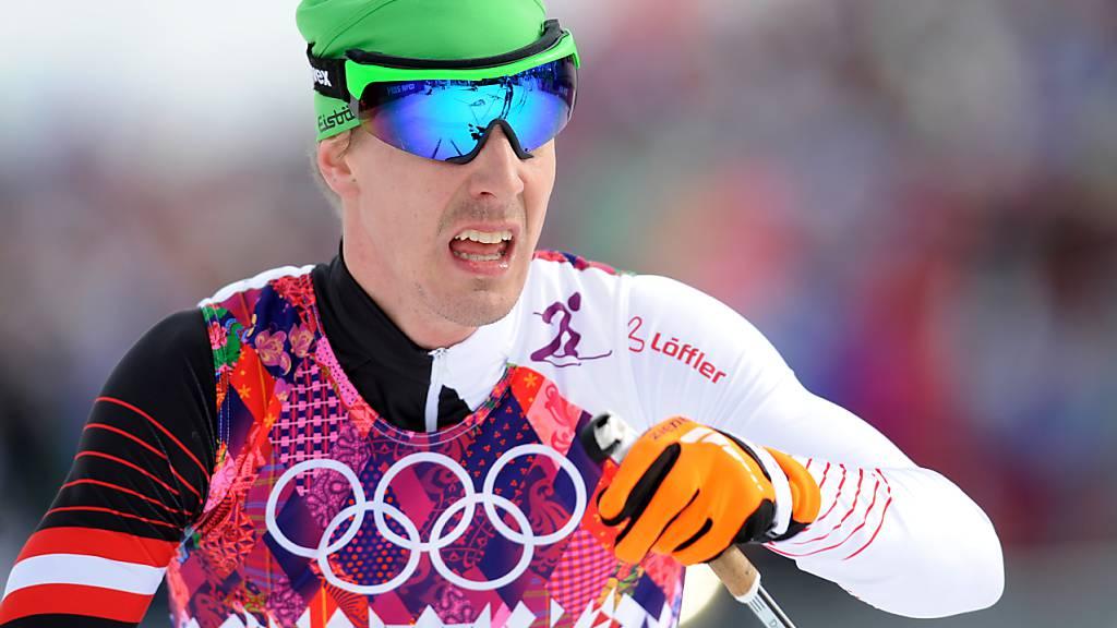 Neben der ARD hatte der österreichische Langläufer Johannes Dürr den Doping-Skandal ins Rollen gebracht