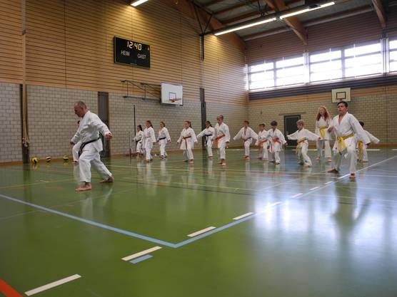 Grgic bietet in seiner Karateschule auch Kurse für Menschen mit Einschränkungen an