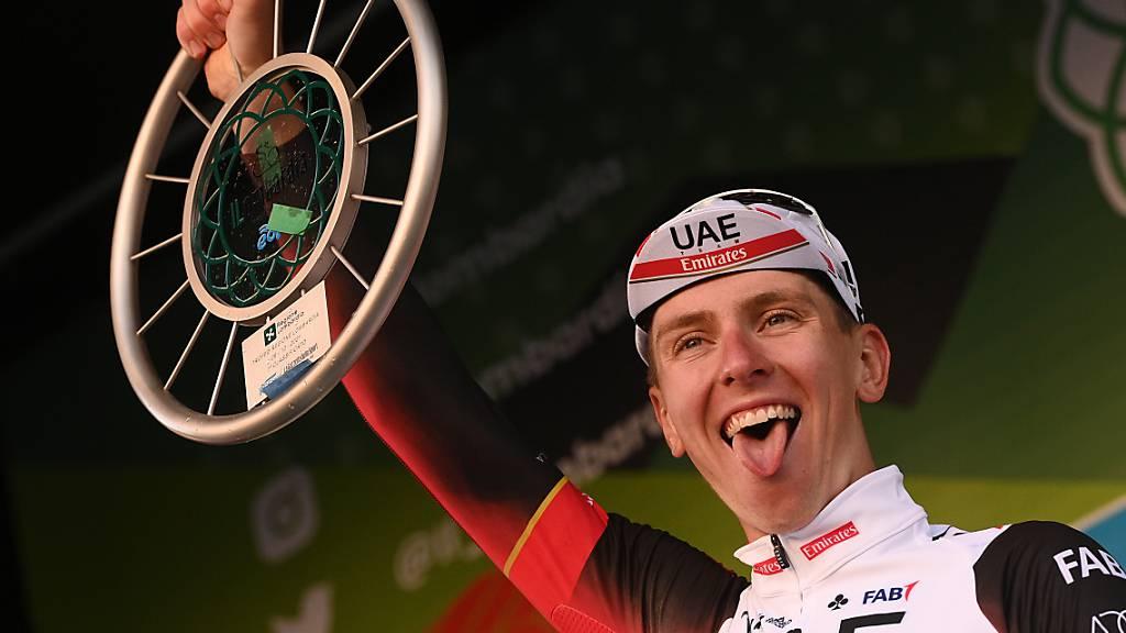 Hochverdienter Sieg bei einem zweiten Radsport-Monument: Der Slowene Tadej Pogacar triumphiert an der Lombardei-Rundfahrt