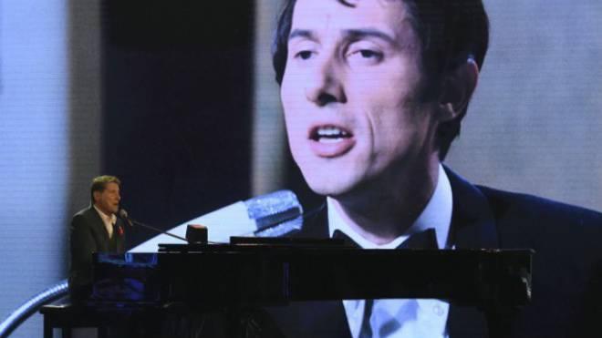 Udo Jürgens bei der grossen TV-Gala zu seinem 80. Geburtstag. Foto: ZDF/Dominik Beckmann