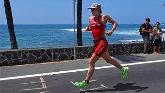 Daniela Ryf läuft dem Sieg beim Ironman auf Hawaii entgegen.