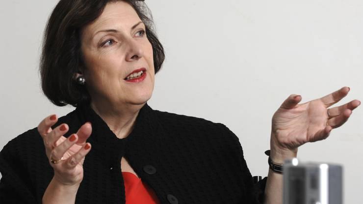 FDP-Ständerätin Christine Egerszegi fordert den Rücktritt von Pascal Couchepin.