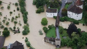 Hochwasser Zwingen 2007