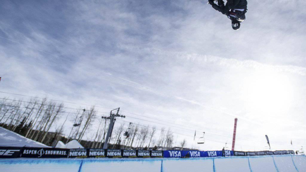 Shaun White peilt in Pyeongchang Olympia-Edelmetall Nummer drei an.