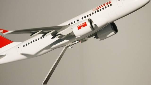 Im Aufwärtstrend: Swiss fliegt einen Gewinn ein (Symbolbild)
