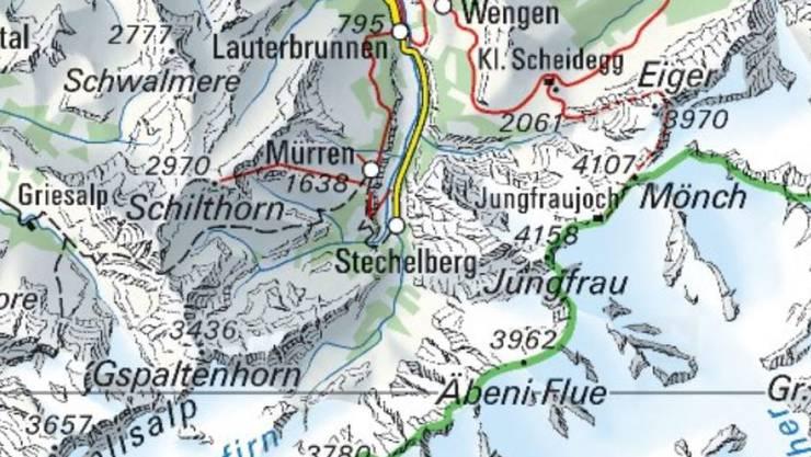 Am Mittwoch ist ein französischer Basejumper bei Stechelberg abgestürzt und ums Leben gekommen.