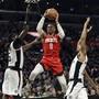Houstons Russell Westbrook zieht zum Korb