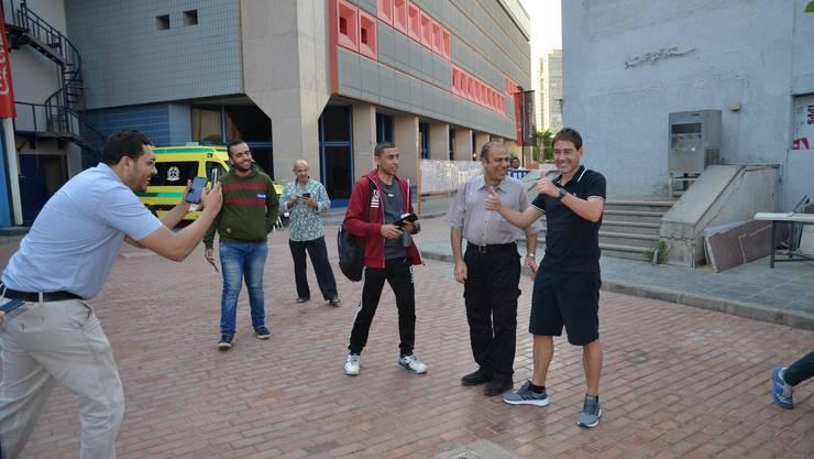 Begehrter Mann: Weiler auf dem Trainingsgelände seines Klubs Al-Ahly.