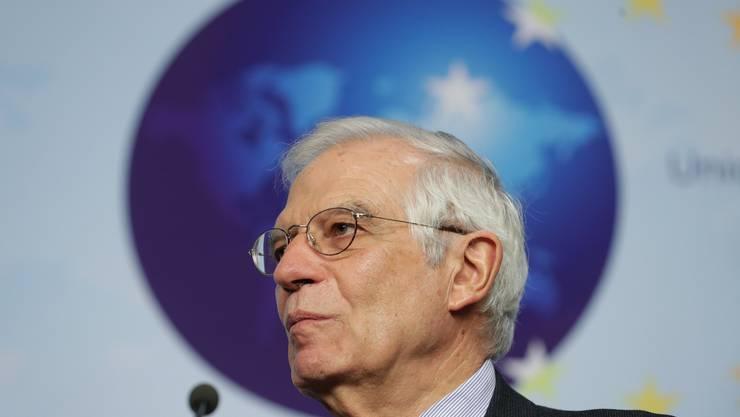 Er will Europas Aussenpolitik schärfen: der Katalane Josep Borrell, 72.
