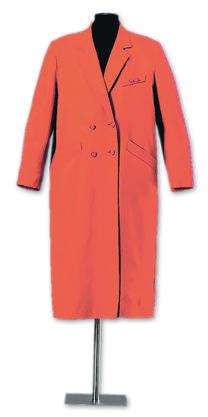 Der legendäre rote Mantel, den Emilie Lieberherr am 1. März 1969 trug.