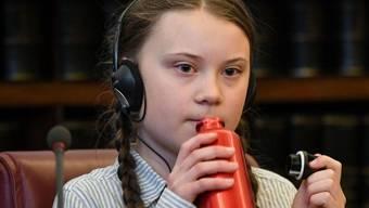 """Greta Thunberg wird von Amnesty International zur """"Botschafterin des Friedens"""" ernannt. (Archiv)"""