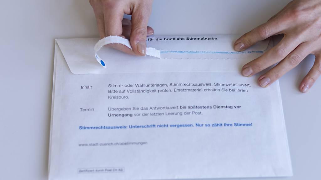 Die Gemeinde Ruswil hat Abstimmungscouverts liegen lassen. (Symbolaufnahme)