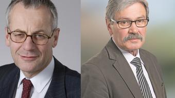 Auch Kurt Fluri (links) und Roberto Zanetti (rechts) sehen Handlungsbedarf wegen verwassungswidrigen Volksinitiativen.