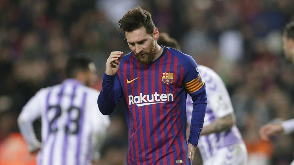 Lionel Messi avanciert bei Barcelona trotz verschossenem Penalty zum Matchwinner