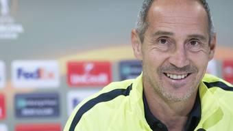 YB-Coach Adi Hütter will den FC Basel im Frühjahr vom Thron stossen