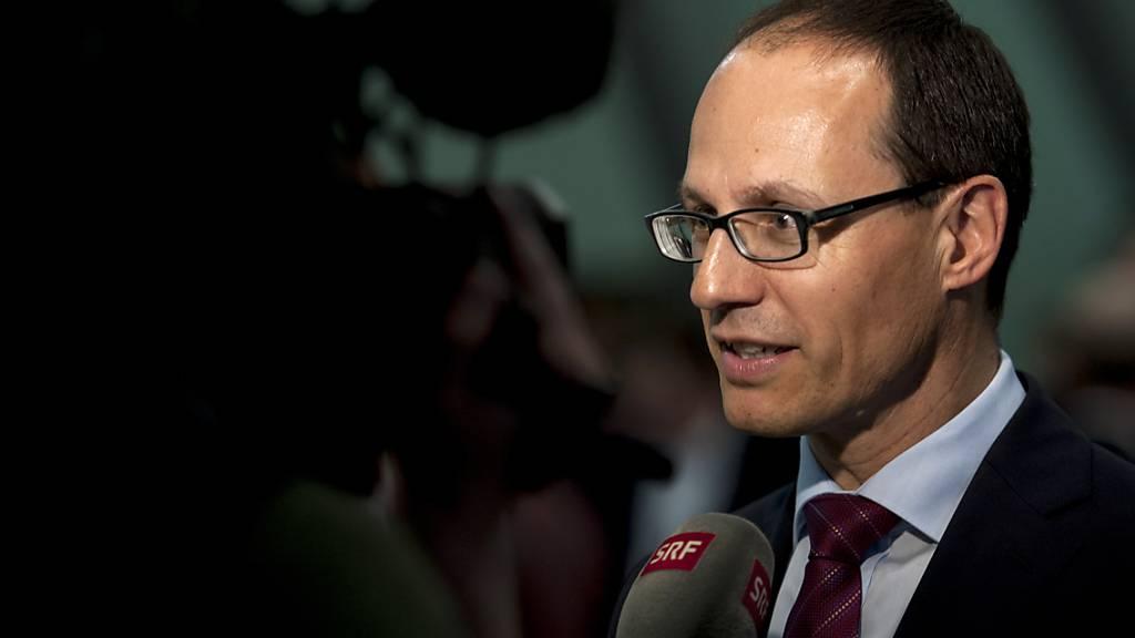 Im April 2016 war Marc Mächler in die St. Galler Regierung gewählt worden. (Archivbild)