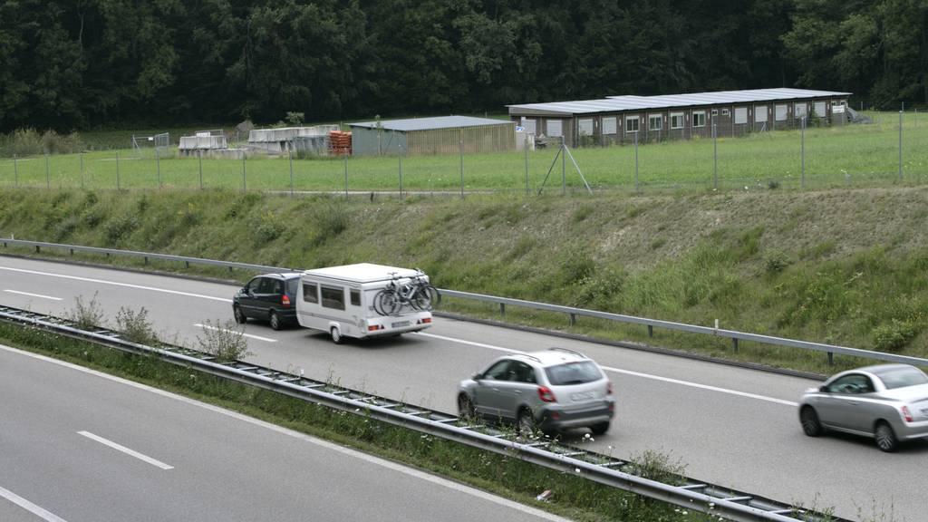 Der Autodieb flüchtete auf der A7 in Richtung Kreuzlingen. (Archivbild)