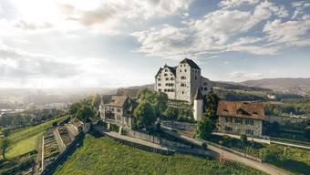 Für das Finale des Märchenfestivals «Klapperlapapp» steht das Schloss Wildegg ganz im Zeichen der Märchen.