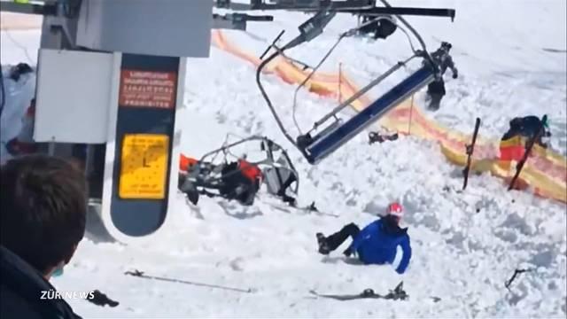 Nach Horror-Sessellift: Schweizer Ski-Fahrer haben Angst