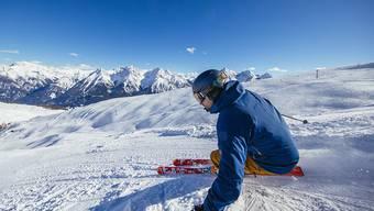 Davon träumen die Winter-Touristiker: Viel Schnee und tolles Wetter. (Archivbild)
