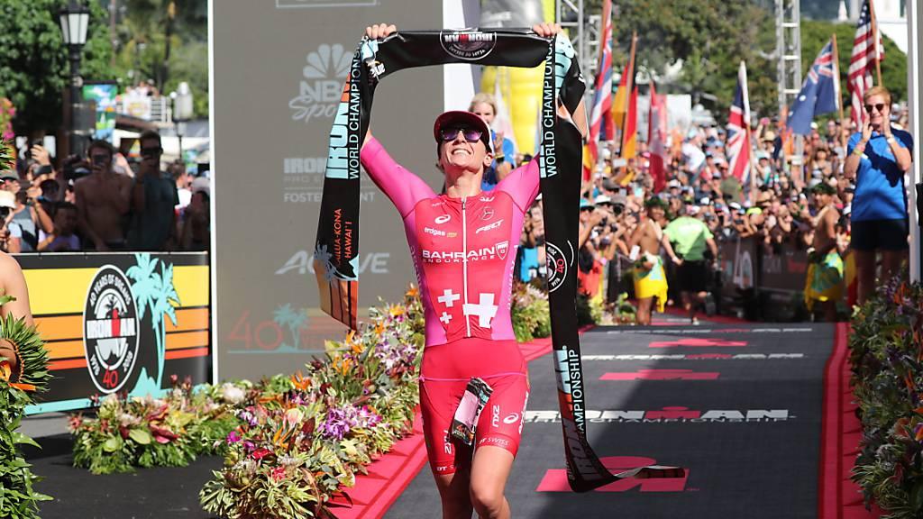 Daniela Ryf zum fünften Mal 70.3-Ironman-Weltmeisterin
