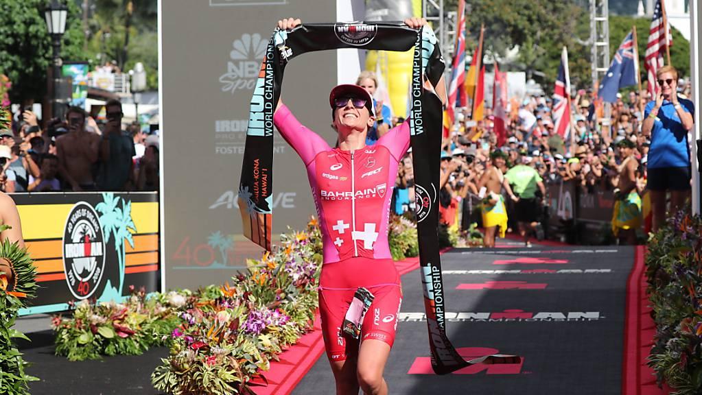 Unschlagbar: Daniela Ryf ist erneut Weltmeisterin über die halbe Ironman-Distanz