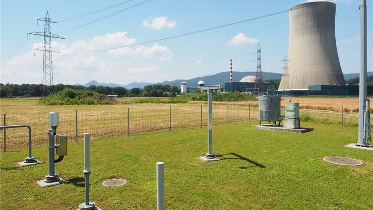 Ungefährer Standort des neuen Pumpwerks (im Vordergrund: Wetterstation von Meteo Schweiz). (Archiv)