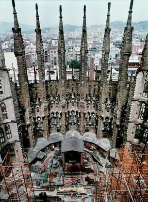 Sagrada Familia im Jahr 1999