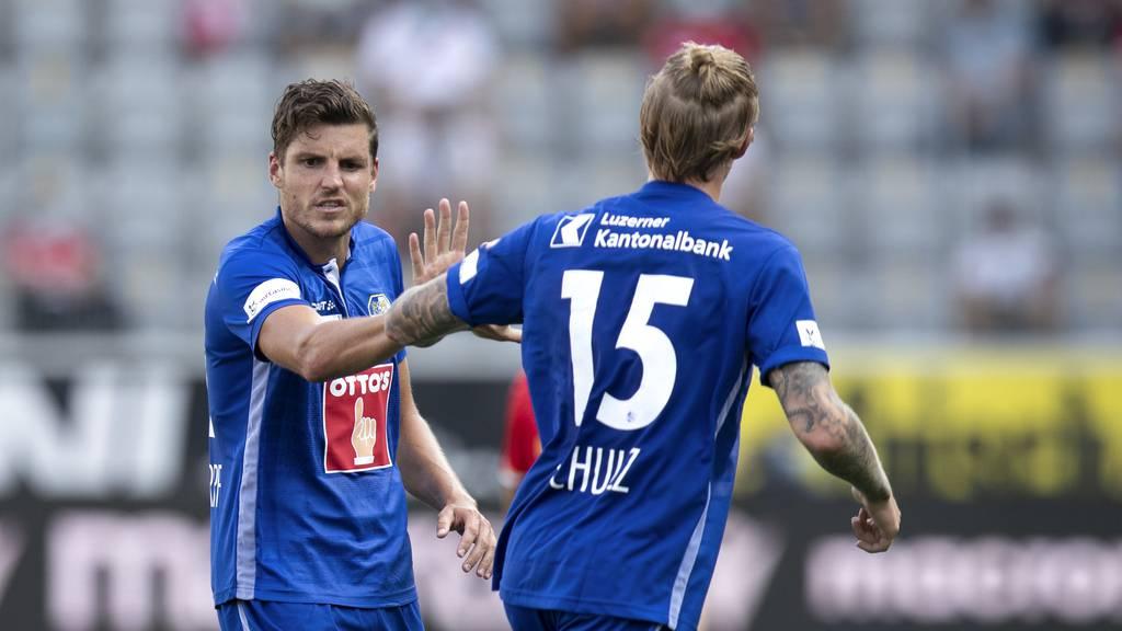 Schulz-Treffer sichert dem FC Luzern das Achtelfinal-Ticket