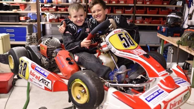 Für Leon und Lewis ist die Formel 1 das klare Ziel.