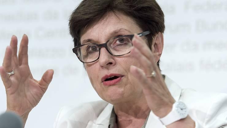 SP-Ständerätin Anita Fetz (BS) empfiehlt dem Bundesrat im Namen der Finanzdelegation, auf Solidarbürgschaften zu verzichten. Das sei die wichtigste Lehre aus der Affäre um die Schweizer Hochseeschiffe. (Archivbild)