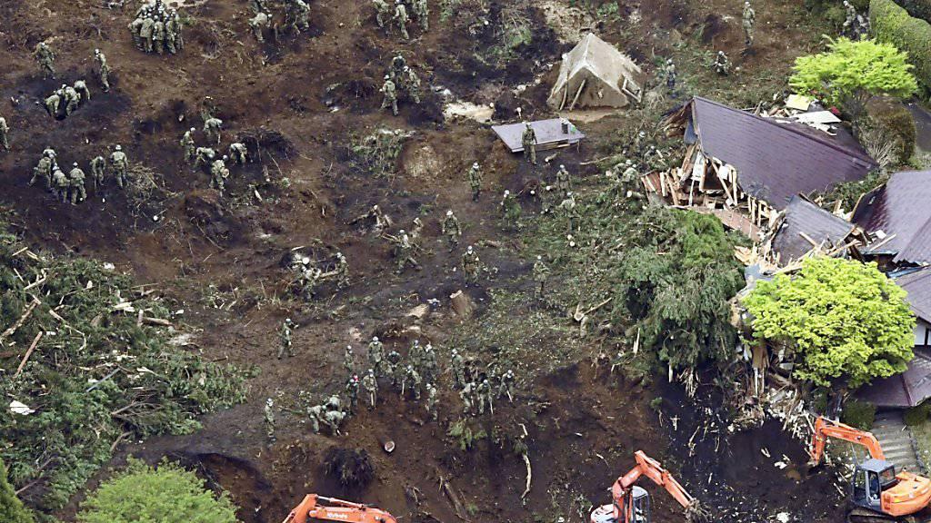 Das Erdbeben auf der japanischen Insel Kyushu vom April war das grösste Einzelereignis im Katastrophenjahr 2016. Es verursachte allein einen wirtschaftlichen Gesamtschaden von zwischen 25 und 30 Milliarden Dollar. (Archiv)