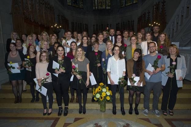 Die Bachelor-Absolventen der FHNW in Basel