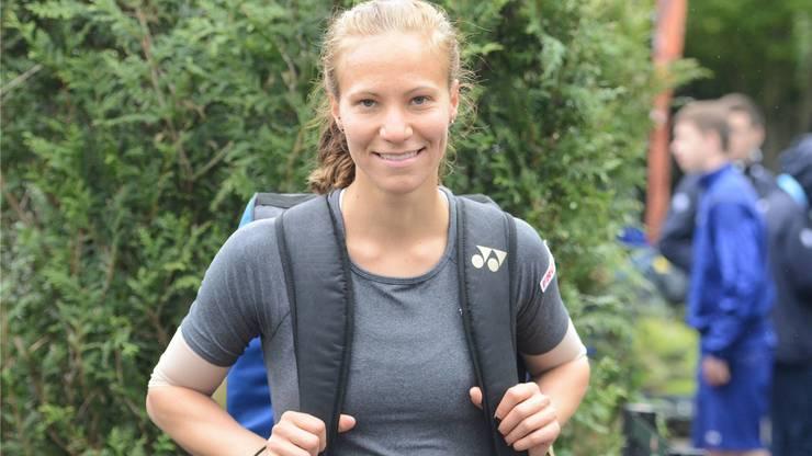 Hat gut lachen: Viktorija Golubic hat sich in das Hauptturnier der French Open gekämpft.