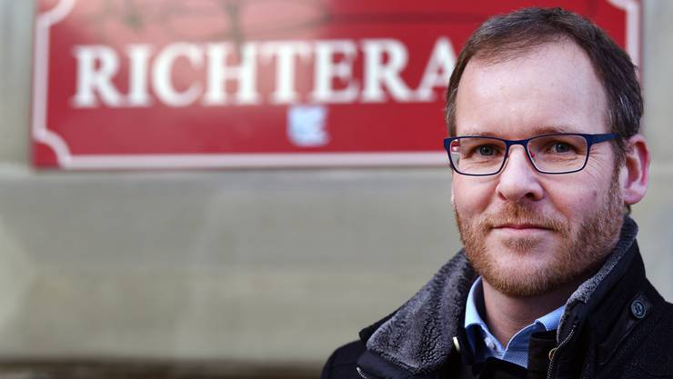 Claude Schibli, neuer Amtsgerichtspräsident Olten-Gösgen