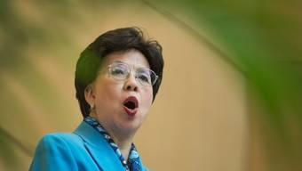 WHO-Generaldirektorin Margaret Chan in Genf (Archiv)