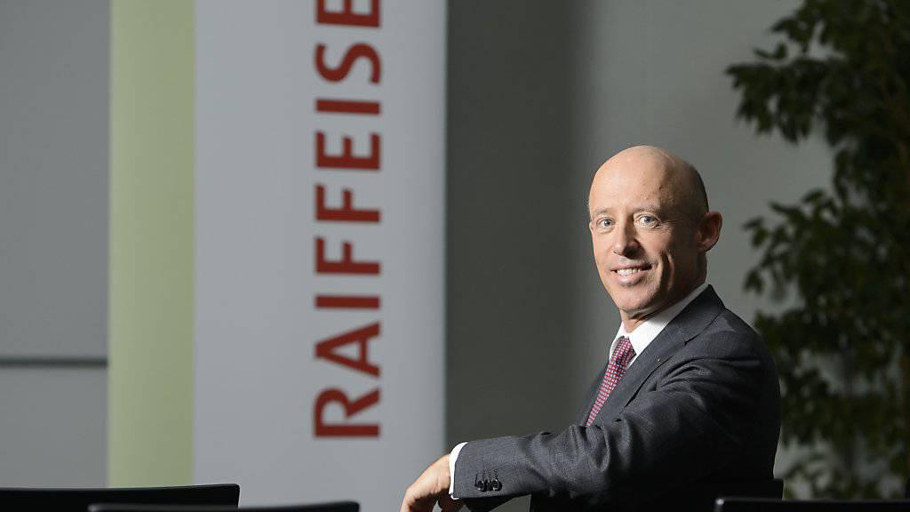 Patrik Gisel führt seit Donnerstag die Raiffeisen-Gruppe (Archivbild).