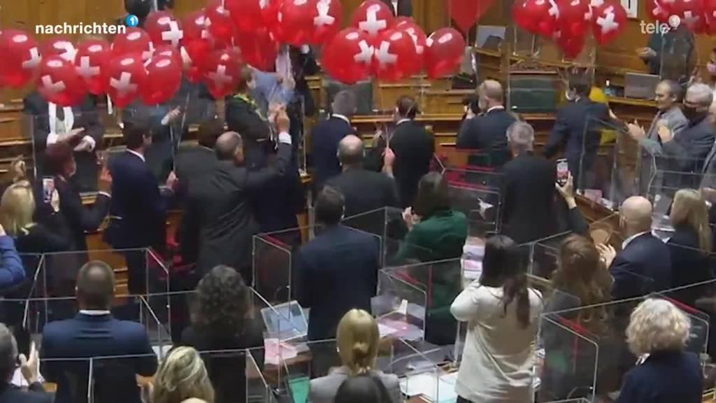 So durchseucht ist das Parlament