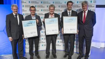 Impressionen vom Aargauer Unternehmenspreis 2015