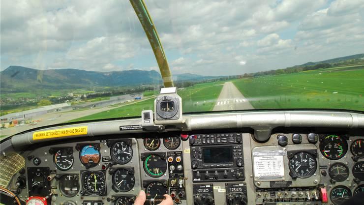 Immer weniger Piloten entscheiden sich für den Anflug auf Grenchen.
