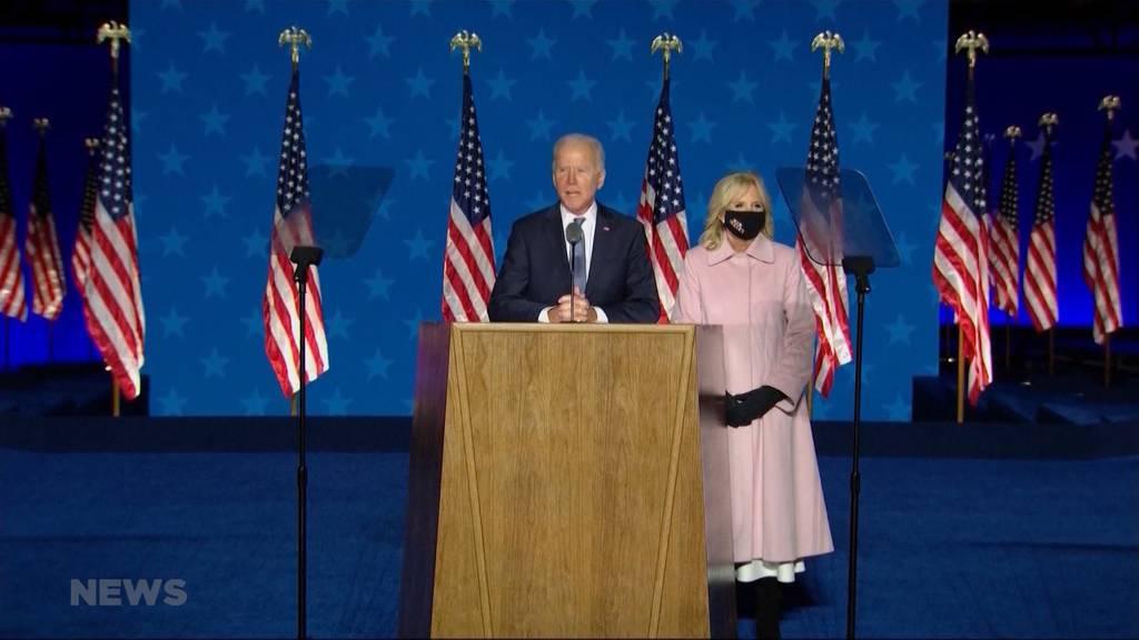 Joe Biden oder Donald Trump: Wer macht das Rennen?