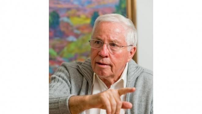 «Ich traf nie einen Entscheid ohne Gewissensbisse»: Christoph Blocher im Interview. Foto: Emanuel Freudiger