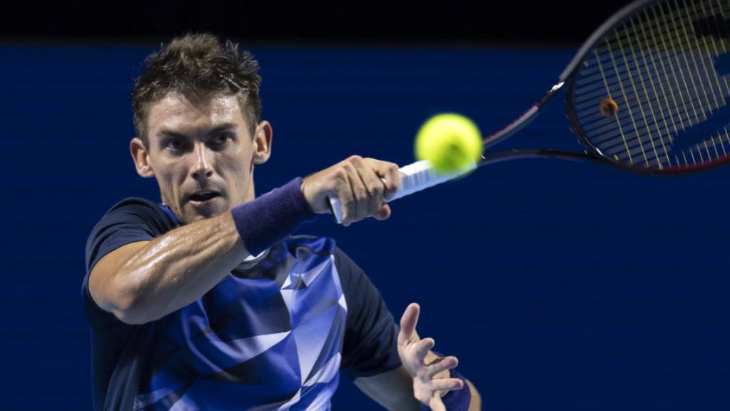 Henri Laaksonen auf dem Weg ins Haupttableau des Australian Open.