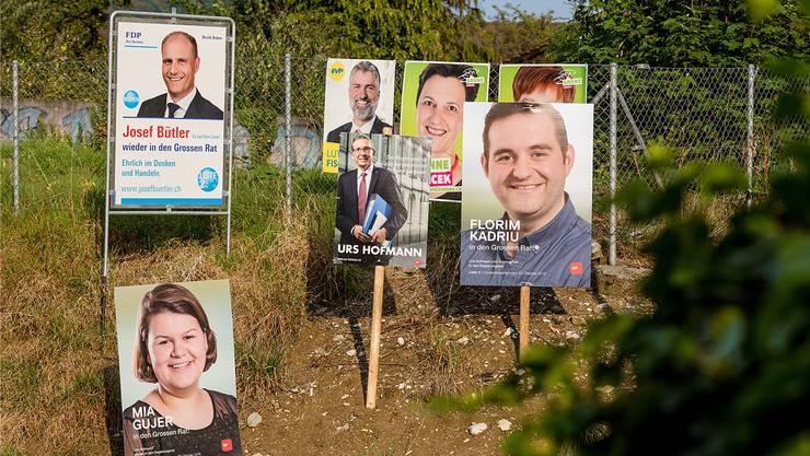 Einen Plakatwald wie bei den Gross- und Regierungsratswahlen vor drei Jahren will Spreitenbach verhindern.