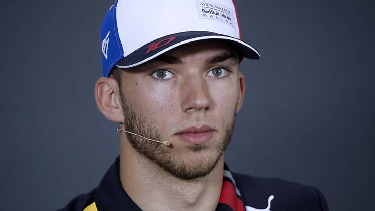 Pierre Gasly war zum Auftakt in Silverstone überraschend der Schnellste